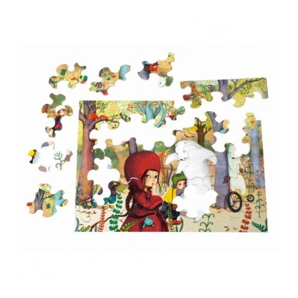 Puzzle MW Rencontres en forêt 24 p - Photo n°2