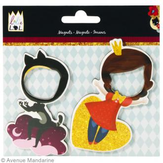 Set de magnets Lolielol - 9 cm - 2 pcs