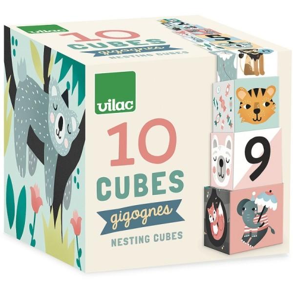 Cubes Gigognes les animaux Michelle Carlslund - Photo n°2