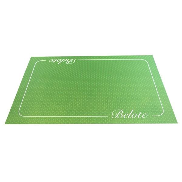 Tapis de belote Excellence 40 x 60 - Vert - Photo n°1