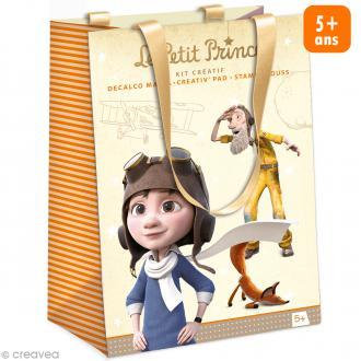 Kit créatif - Le Petit Prince - Decalco Mania, Creativ' Pad, Stampi Mouss