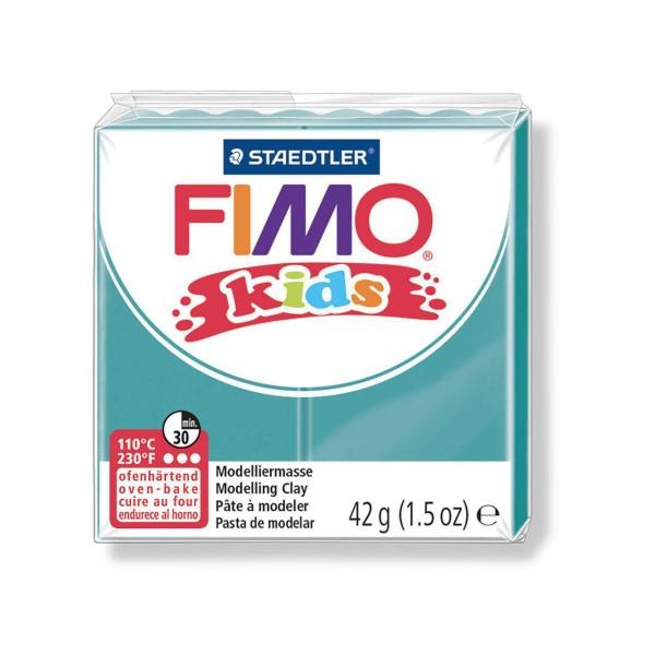 FIMO Kids 42g - Enfants Turquoise de la pâte à modeler, les Enfants de Don, de l'Argile Polymère, Ar - Photo n°1