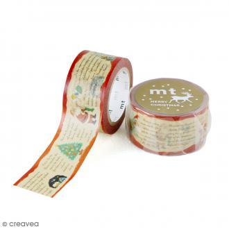 Masking Tape Noël - Histoires de Noël - 25 mm x 7 m