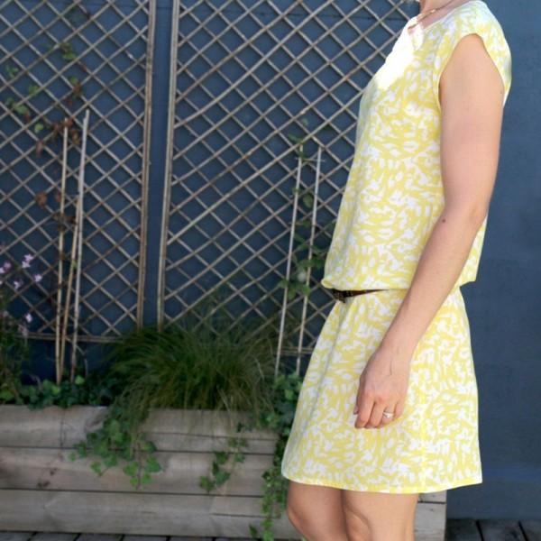 Patron Femme - Robe ou Blouse Tokyo - Atelier Scämmit - Photo n°3