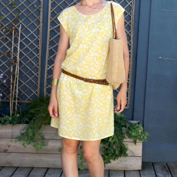 Patron Femme - Robe ou Blouse Tokyo - Atelier Scämmit - Photo n°1