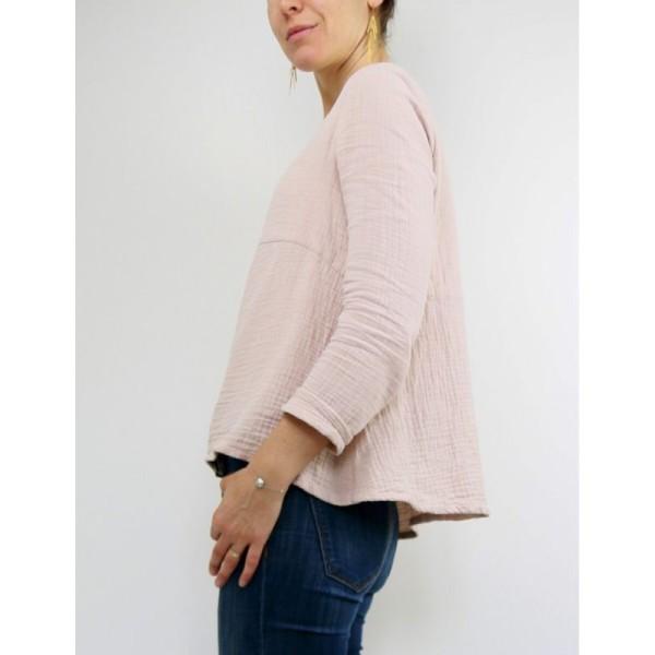 Patron Femme - Blouse ou Robe Zephir - Atelier Scämmit - Photo n°1