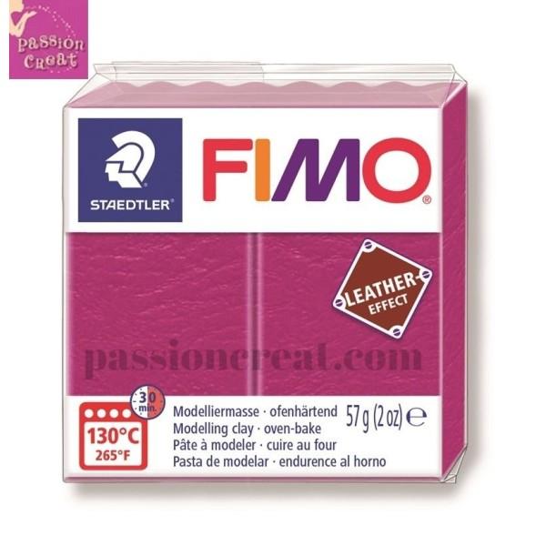 Fimo Effet Cuir Violet 57 Grammes n°229 - Photo n°1