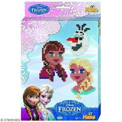 Kit Perles Hama midi - Reine des neiges - 2000 pcs