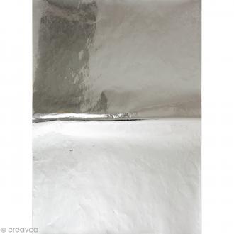 Papier Paper patch Hot Foil Uni - Argenté - 30 x 40 cm