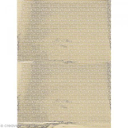 Papier Paper patch Hot Foil Points - Doré - 30 x 40 cm - Photo n°1