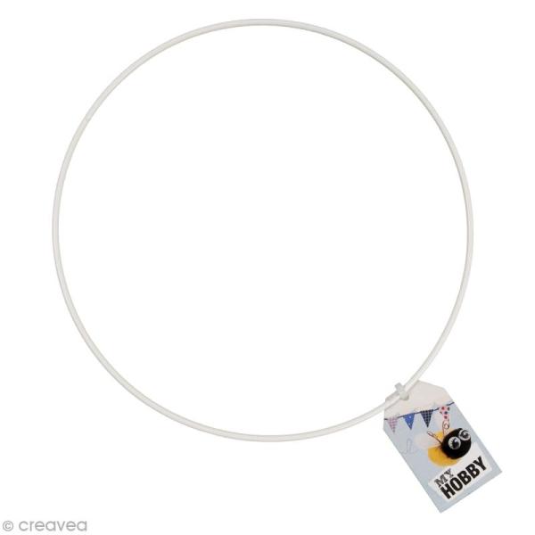 Cercle nu abat jour - 25 cm - Photo n°1