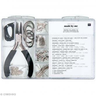 Kit outils et accessoires à bijoux - 198 pcs environ
