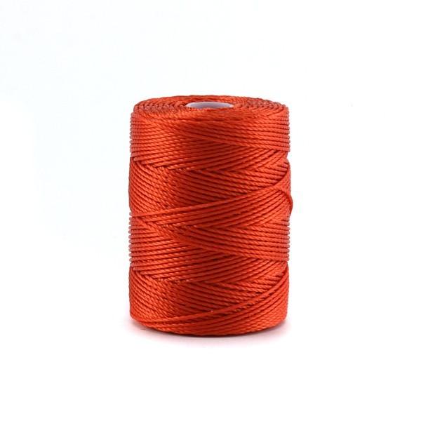 Bobine de micro-corde C-lon 0,45 mm orange - Photo n°1