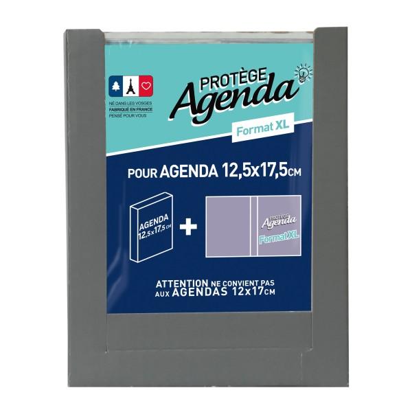 1 Protège-agenda - Format XL - Incolore - Photo n°1