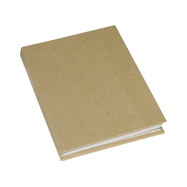 Cahier 100 pages A6 à décorer couverture rigide - Photo n°1