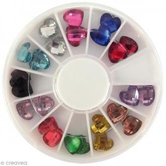Cabochons Diamants - Coeur - 5 mm - 24 pcs