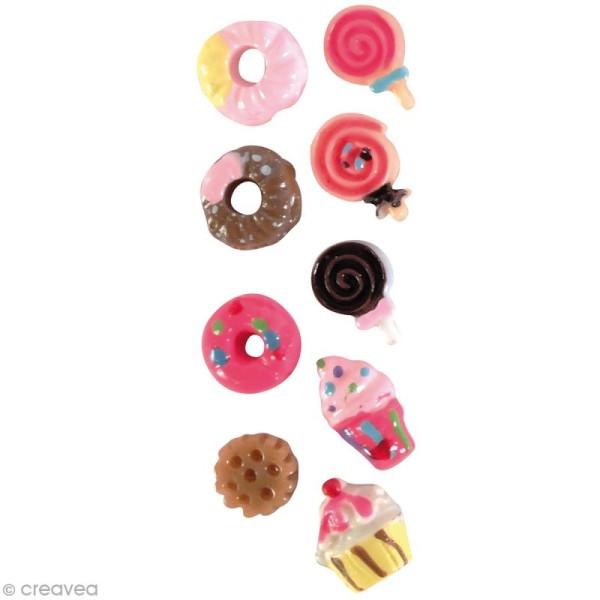 Miniatures gourmandes - Sucrerie - 7 mm - 18 pcs - Photo n°1