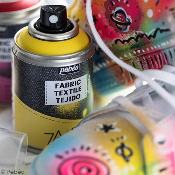 Peinture textile en bombe - 100 ml - Photo n°2