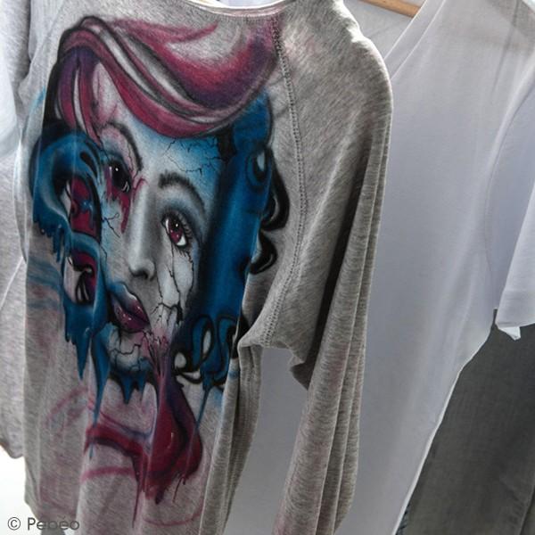 Peinture textile en bombe - 100 ml - Photo n°3