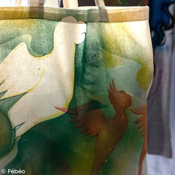 Peinture textile en bombe - 100 ml - Photo n°4