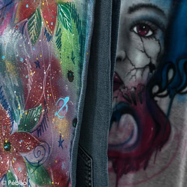 Peinture textile en bombe - 100 ml - Photo n°6