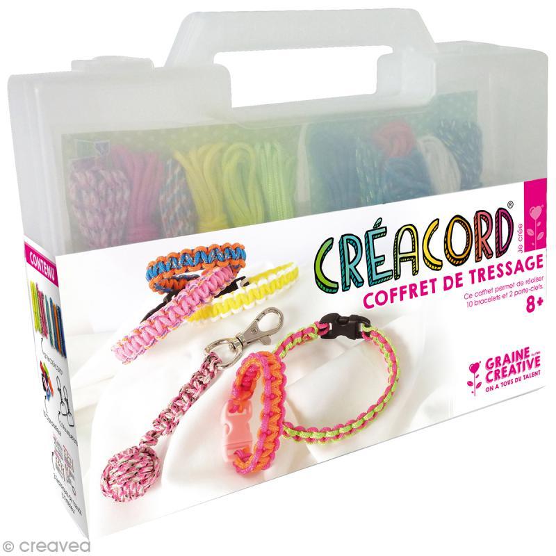 Kit Creacord - Coffret de tressage - Photo n°1