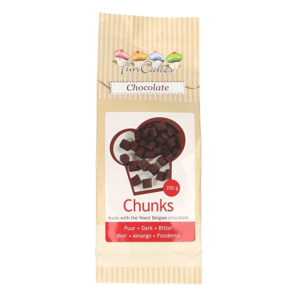 Chunks Morceaux de chocolat noir 350 gr - Photo n°1