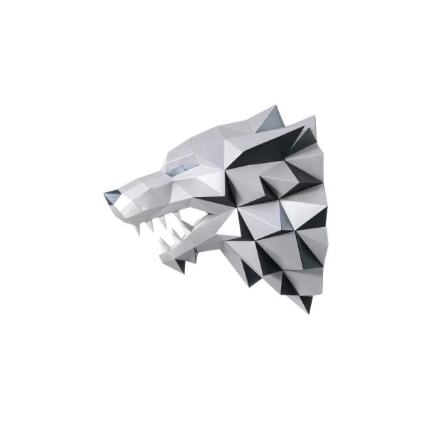 wizardi 3D papercraft kit loup-garou - Photo n°2