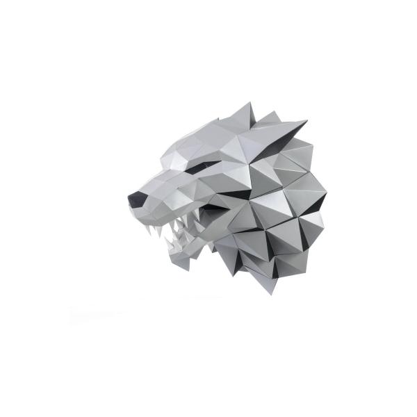 wizardi 3D papercraft kit loup-garou - Photo n°1