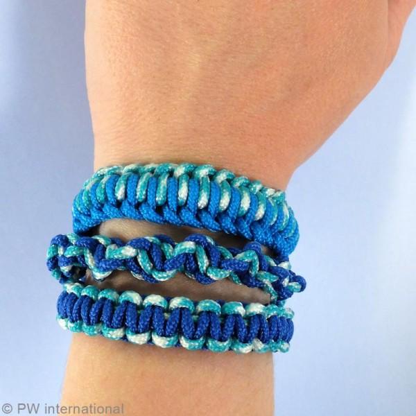 Kit Creacord - Océan - 3 bracelets - Photo n°3