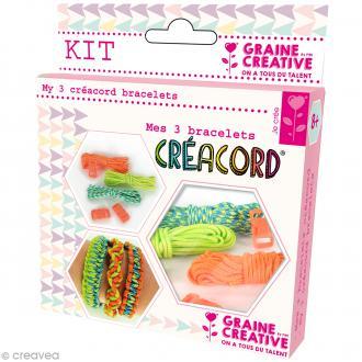 Kit Creacord - Tropiques - 3 bracelets