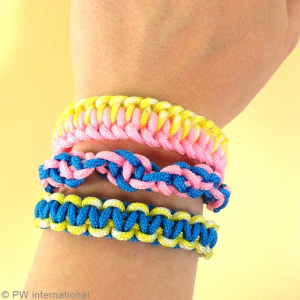 Kit Creacord - Rainbow - 3 bracelets - Photo n°3