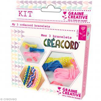 Kit Creacord - Rainbow - 3 bracelets