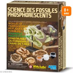 Kit moulage - Fossiles phosphorescents