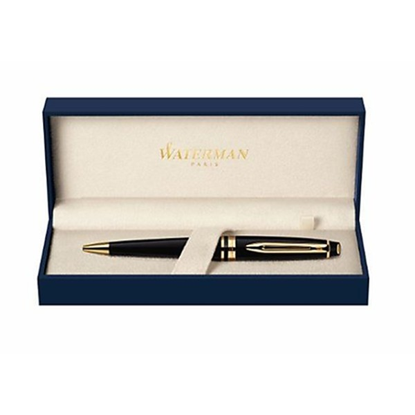 Waterman S0951700 Expert Stylo bille Encre bleu Corps Noir - Photo n°2