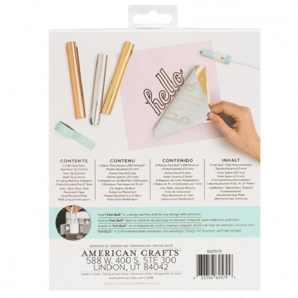 Kit Foil Quill starter  - We R Memory Keepers - Stylo thermique - Photo n°3