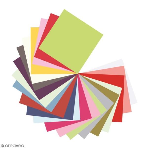 Papier Pollen Carte 135 X 135 X 25 Enveloppe 140 X 140 Creavea