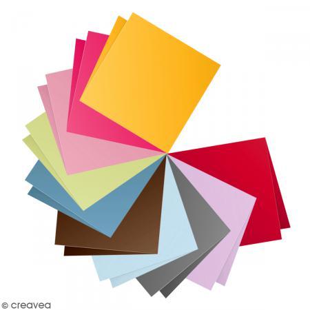 papier pollen carte double 135 x 135 x 25 enveloppe 140 x 140 creavea. Black Bedroom Furniture Sets. Home Design Ideas