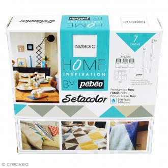 Kit peinture Inspiration Setacolor by Pébéo - 7 pcs