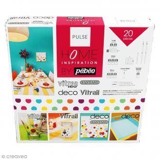 Kit peinture Home inspiration Pulse by Pébéo - 20 pcs