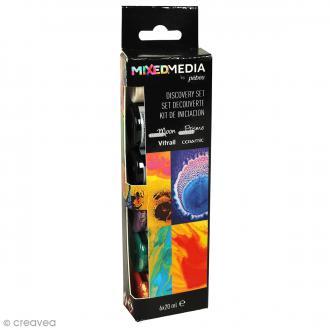 Set de peintures Mixed Media Pébéo - 6 x 20 ml