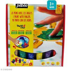 Kit peinture Pébéo - Prêt à l'emploi - 6 x 20 ml