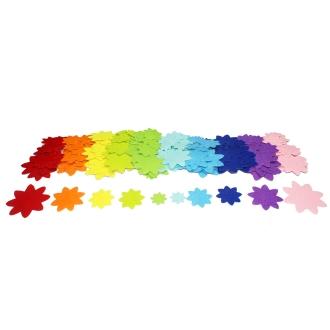 Formes en Feutrine adhésive - Fleurs - 150 pcs