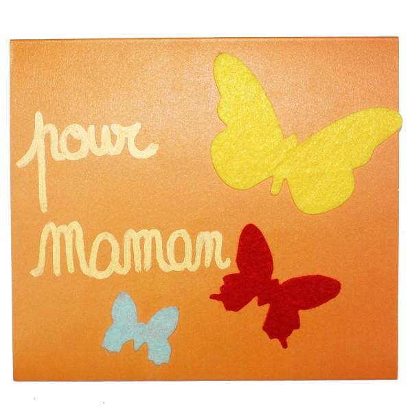 Formes en Feutrine adhésive - Papillons - 150 pcs - Photo n°2