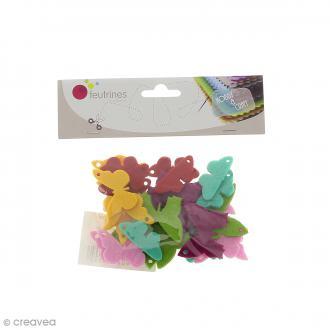 Formes en Feutrine - Papillons - 30 pcs