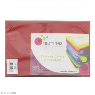 Assortiment Feutrine rigide 1 mm - 20 x 30 cm - 12 pcs