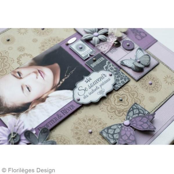 Tampon bois Précieuse étiquette - 60 x 80 mm - Photo n°6