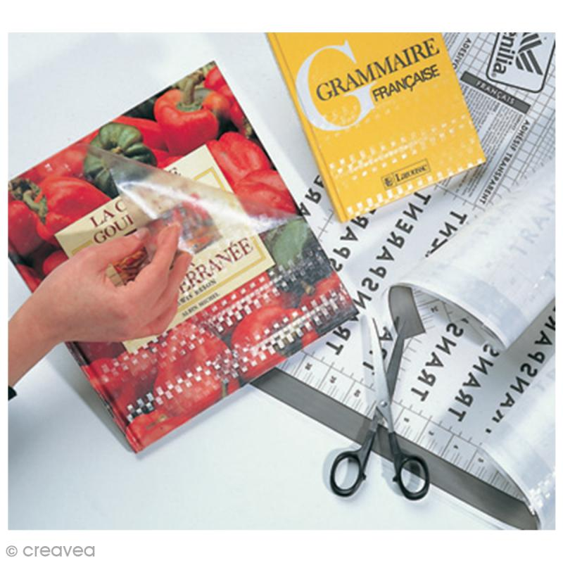 Protège cahier adhésif Venilia Transparent - Protège cahier - Photo n°2
