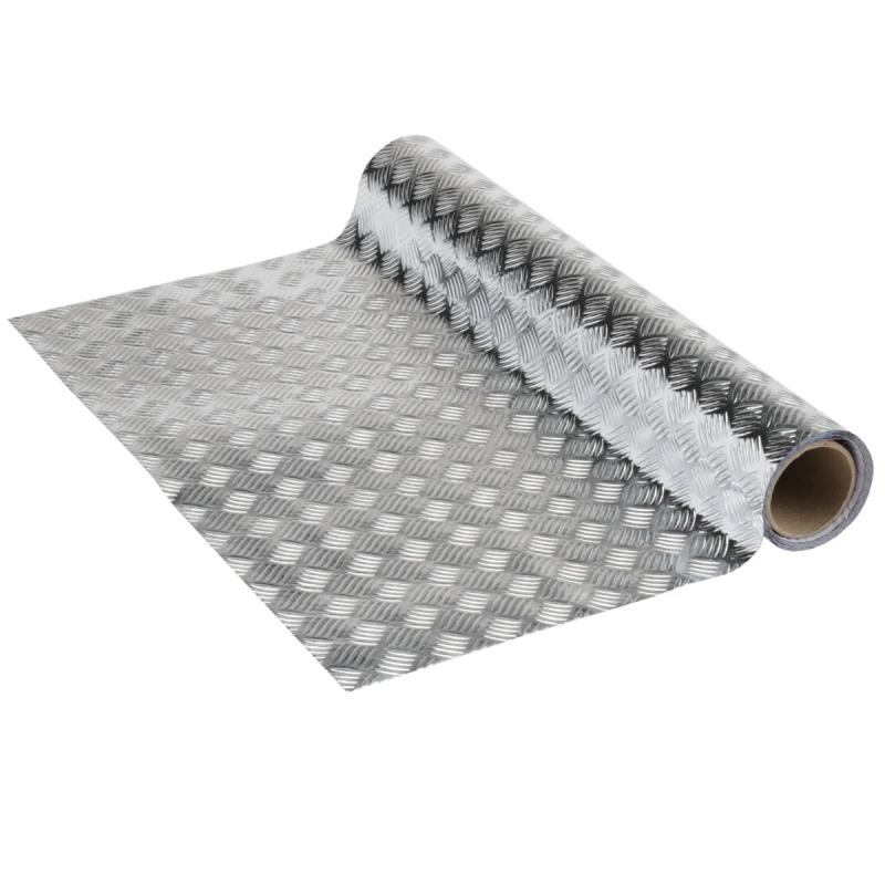 adh sif venilia industriel acier martel brillant 150 x 45 cm adh sif d coratif m tallique. Black Bedroom Furniture Sets. Home Design Ideas