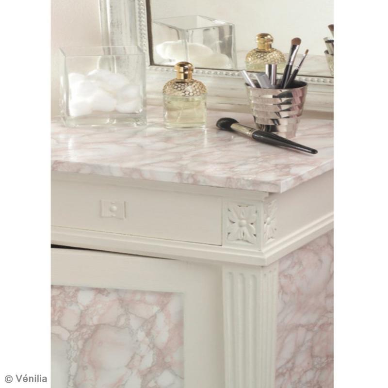 Adh sif venilia marbre marmorosa 200 x 45 cm papier imitation pierre creavea - Papier adhesif venilia ...